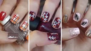 17 cute easy fall nail designs fall nail art design ideas easyday