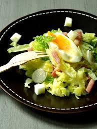 cuisiner un choux vert salade d hiver au chou vert recipe vinaigrette entrees and food