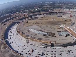 new drone footage of apple campus 2 business insider