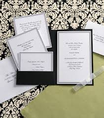 wilton wedding invitations wilton elegance invitation kit black white joann