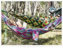 grand trunk double parachute nylon hammock review askmen