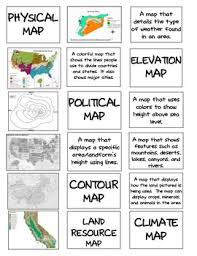map types types of maps sort and foldable for notebook by