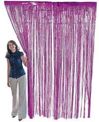 Curtains Decorations Metallic Foil Fringe Shiny Curtains For Prom