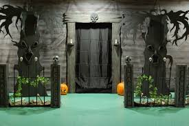 Scary Halloween Door Decorations by Home Decor Interesting Decorating Interior Design Scary Halloween