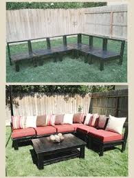 Outdoor Wood Sectional Furniture Plans by One Arm Outdoor Sectional Piece Ana White Outdoor Sectional