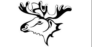 draw a tattoo wild moose 045 youtube