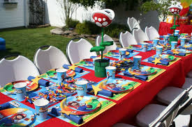 Super Mario Decorations Ideas For A Super Mario Birthday Party U2014 Criolla Brithday