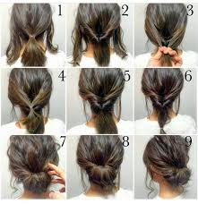 cool step by step hairstyles best 25 easy casual hairstyles ideas on pinterest casual