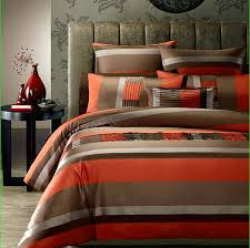 brown and orange comforter sets appealing brown and burnt orange