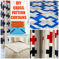 diy cross pattern porch curtains hymns and verses