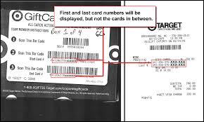 how to identify gift card numbers purchasing