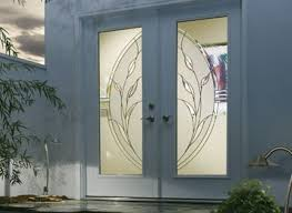 front door glass designs custom glass door inserts from sarasota glass sarasota glass