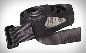 Patagonia travel belt hides a wallet on the band 39 s inner side