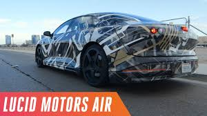 riding with lucid motors the 1 000 horsepower electric car built