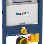 Chicago Faucet Co New Geberit Omega Series Features In Wall Toilet System And
