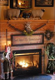 Country Fireplace Screens by 266 Best The Primitive Mantle Ideas Images On Pinterest