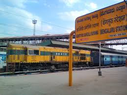 bangalore to lucknow junction ner 5 trains railway enquiry