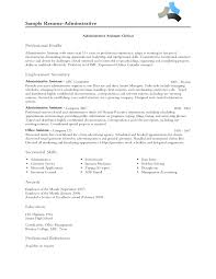 sle of functional resume functional resume sle administrative assistant 28 images