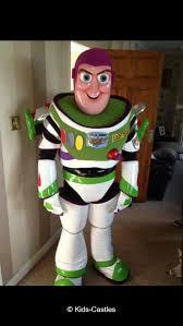 buzz lightyear mascot character