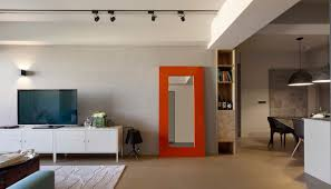 interior designs for homes minimally designed apartment with punches of color design milk