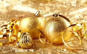 gold christmas ornament backgrounds u2013 happy holidays