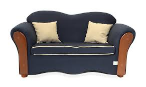 Organic Sofa Bed Amazon Com Keet Homey Vip Organic Kid U0027s Sofa Navy Blue