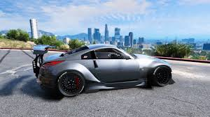 stanced rx7 nissan 350z rocket bunny kit stanced add on gta5 mods com