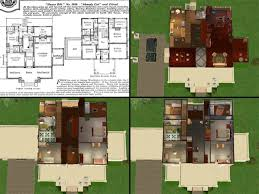 Simple House Designs by Unique Design House Plans Plan Has A Brick Exterior Inside Decorating