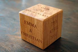 fifth anniversary gift ideas for him 5th wedding anniversary wooden gift ideas makemesomethingspecial
