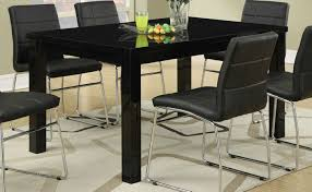 Dining Room Table Black Black Wood Dining Table Steal A Sofa Furniture Outlet Los Angeles Ca