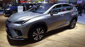 lexus nx hybrid car and driver 2018 lexus nx 300h exterior and interior iaa frankfurt 2017