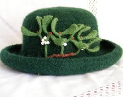 mistletoe hat mistletoe hat etsy
