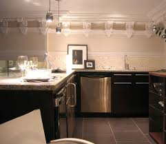 kitchens without upper cabinets art deco bathroom lighting house