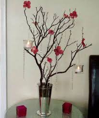 Manzanita Tree Centerpieces Parvin U0027s Blog I Love This Modern And Simple Centerpiece Made Of