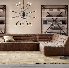 Restoration Hardware Kensington Leather Sofa How To Find The Perfect Leather Sofa Emily Henderson