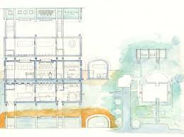 esherick house site plan home design and style