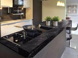 Black Countertop Kitchen - kitchen mesmerizing black granite kitchen countertops
