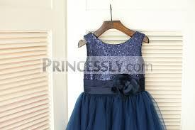 blue sequin bridesmaid dress navy blue sequin tulle wedding flower dress