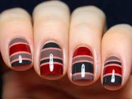 globe u0026 nail lacc fall winter 2013 nail art striped sweater