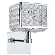 Murray Feiss Wall Sconce Bathroom Lighting Murray Feiss Wbgs Crystal Gianna Wall Sconce