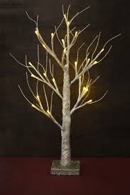 glitter wedding tree with lights 24in battery op