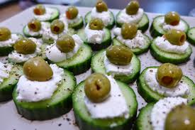 cucumber canapes gf cucumber canape the clumsy cook and the excited economist