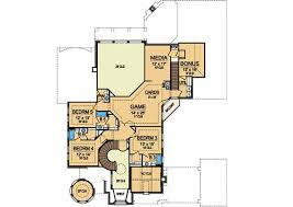 luxury style house plans 6065 square foot home 2 story 5