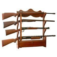 american classics gun cabinet american furniture classics 1 00 cu ft 4 gun wall rack 840 the