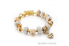s charm bracelet s chariot murano snake chain charm bracelet