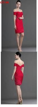 etui linie herzausschnitt kurz mini chiffon brautjungfernkleid mit gefaltet p638 die besten 25 rotes cocktailkleid ideen auf