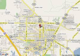 gainesville map map of gainesville knights inn gainesville