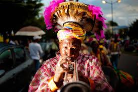 file guadeloupe winter carnival pointe à pitre parade a trumpet