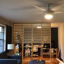 Freedom Room Divider Clever Husband Spends 50 On Wood To Make Incredible Room Divider