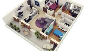 les 3 chambres 10 plans 3d pour aménager une maison de 3 chambres